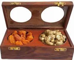 Brown Wood Gift Box, for Gifting