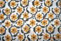 Hand Block Printed Sanganeri Cotton Fabric, For Garments, Gsm: 50-100