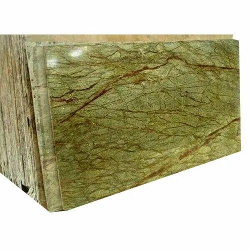 Rain-forest Green Stone Slabs