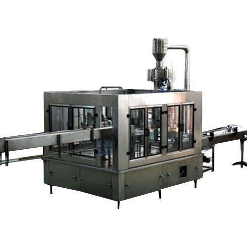 Filling and Labeling Machine - Automatic Bottle Filling and