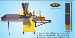 Mild Steel Soham Agarbatti Making Machines, Production Capacity: 5-10 kg/hr, 150-200 strokes/min