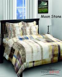 Moon Stone Bed Sheets Rosepetal