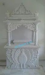 White Marble Pooja Ghar Mandir