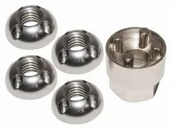 4 Hole Anti Theft Nut