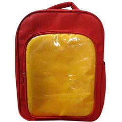 Red and Yellow Kid Waterproof School Bag