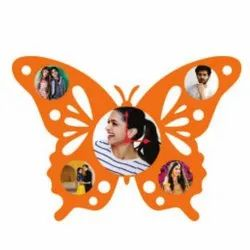 Butterfly Sublimation Wooden Wall Frame