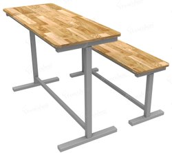 School Benches And Desks FU 206