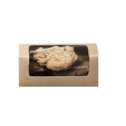 44K Kraft 500 gm Cookie Box with Window