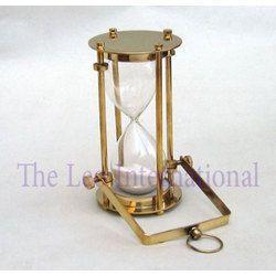 Nautical Brass Hanging Sand Timer