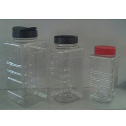 Square Grip Jars For Spices