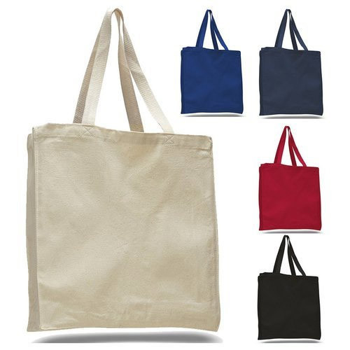 5293d62bd Colored Canvas Tote Bag at Rs 80 /piece | Canvas Tote Bags | ID ...