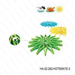 Hot Mate Flower-Set Of 3-HA-32
