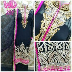 Georgette Party Suit W-332