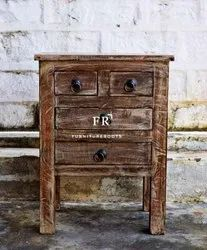 Resort Bedroom Furniture - Vintage Bedside Table