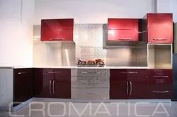 Cromatica Acrylic Shutters With Stainless Steel Cabinets, Warranty: Lifetime