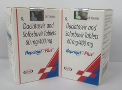 Daclatasvir And Sofosbuvir 60mg/400mg
