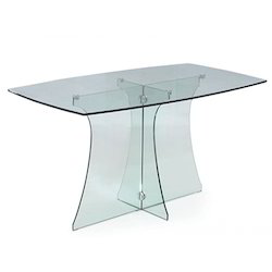 Full Glass Dining Table