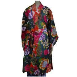 Women Printed Kimono Dress