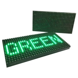 P10 Green LED Display Panel Module