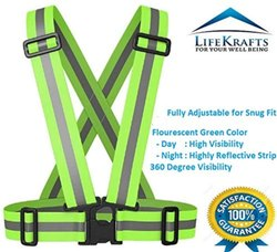 Safety Reflective Vest For Outdoors And Biking, Motorcycle And Cycling Protective Gear