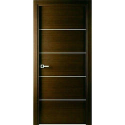 SN Doors Wood 5 Panel Laminated Door