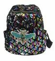 Butterfly Print Sequin Kids Backpack