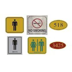 Metallic Signs