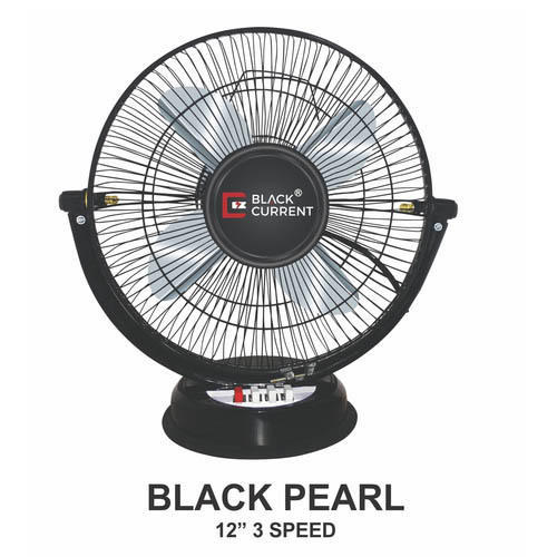 Current Black 12 Inch Table Fan