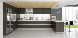 Commercial Wooden Acrylic Hotel Kitchen