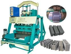 Hollow and Solid Block Making Machine Single Vibrator / Single Vibration