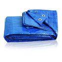蓝色防水布