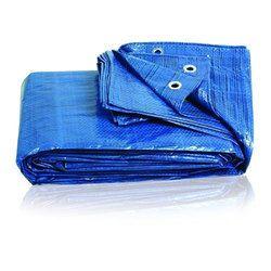 Blue Woven PE Tarpaulin