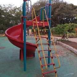 Pool Spiral Slide