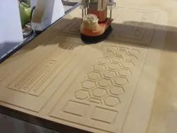 wood Wooden Door Routing, For Multipurpose, Size: Customizable