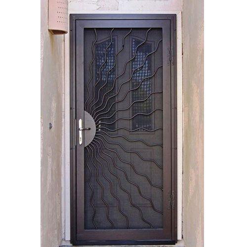 Security Screen Door, Size/Dimension: 6x3.5 Feet