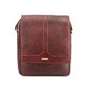 Brown Men Cruze Sling Bag