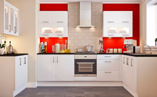 Commercial Italian Modular Kitchen, Warranty: 10-15 Years