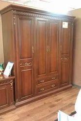Priya Designs Modern Wooden Antique Almirah, Size/Dimension: 72 X 27.7 X 34.2 Inch