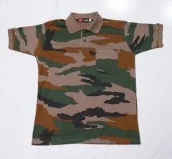 Indian Army Collar T-Shirt