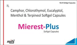 Camphor, Clorothymol,Eucalyptol,Menthol And Terpineol Softgel Capsule