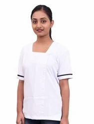 White Unisex Scrub Suits