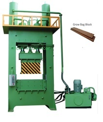 Semi Automatic Coco Pith Grow Bag Making Machine