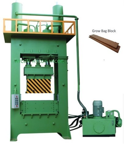 Hycon Semi Automatic Coco Pith Grow Bag Making Machine