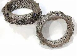 Designer Oxidized Bracelet