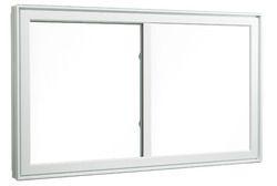 Glemtech White UPVC Fixed Windows, Thickness Of Glass: 1.2 - 2.5 Mm