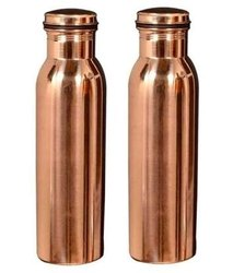 Luxgury Copper Water Bottle, Packaging Type: Good