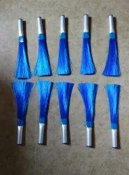 Nylon Blue Soft Cleaning Brush, Size: 10 inch
