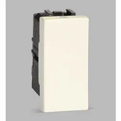 Euro White Plastic ABB IVIE IIS10610 AN 6A 1 Way Electric Switch