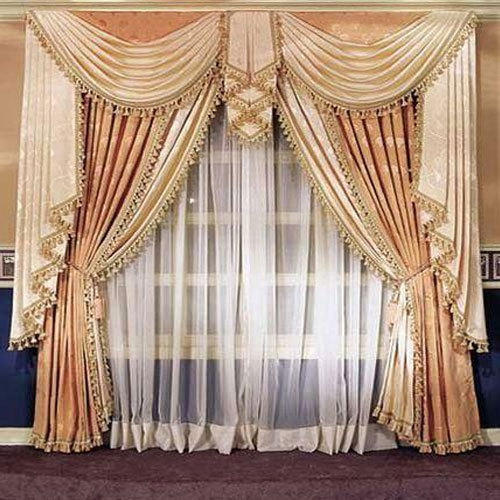 Fancy Window Curtain at Rs 250/piece | Window Curtains ...