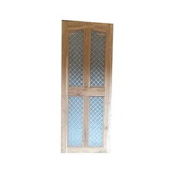 Simple Wooden Jali Door